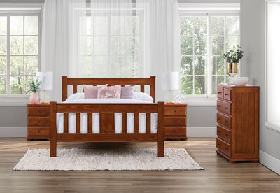 TULLY - 4 Piece Queen Bedroom Suite