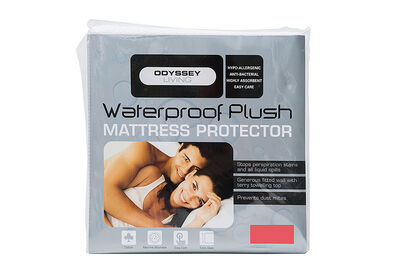ODYSSEY LIVING - Plush Terry Double Mattress Protector