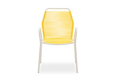 JOY - Outdoor Dining Chair with White Frame