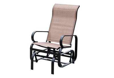 ANTHONY - Brown 1 Seat Outdoor Swing