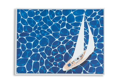 SAILING - Wall Art 90 x 120cm