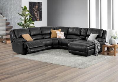 FLOYD - Leather Corner Lounge