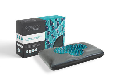 ORTHOKINETIC - Bamboo Infused Gel Premium Contour Memory Foam Pillow