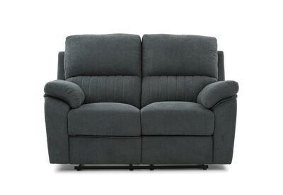 KRAMER - Fabric 2 Seater with 2 inbuilt Recliners