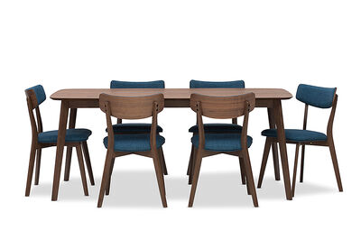 ELSA - 7 Piece Dining Suite with Elsa Dining Chairs