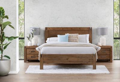 SILVERWOOD - 3 Piece Queen Bedroom Suite