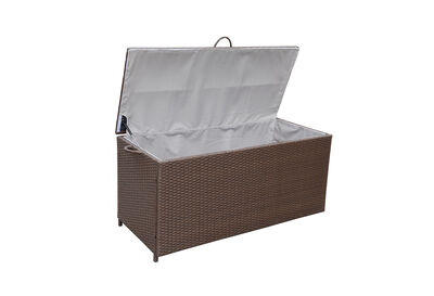 ALVIN - Brown Outdoor Storage Box