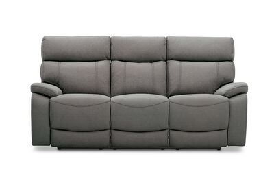 ALFRED - Fabric 3 Seater with 2 Inbuilt Recliners