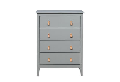 STANFORD - Olive Green Tall Chest