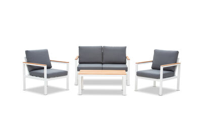 THEIA - 4 Piece Outdoor Lounge Setting