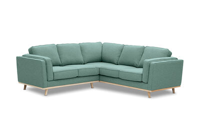 LORAS - Fabric 5 Seater Corner