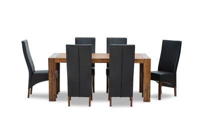 BISBEE - 7 Piece Dining Suite with Zuma Dining Chairs