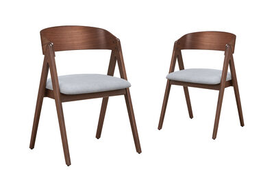 STOCKPORT - Set of 2 Dining Chairs