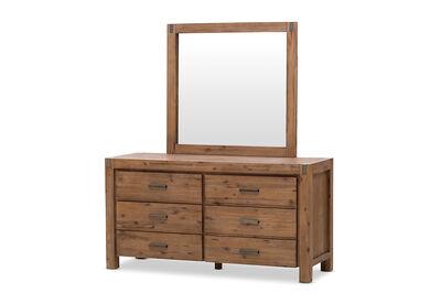 SILVERWOOD - Dresser with Mirror