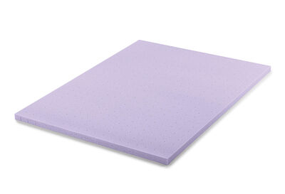 COMFORT INFUSIONS - King Bed 5cm Lavender Infused Memory Foam Topper