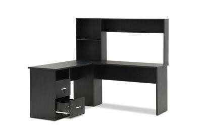 ENZO - Corner Desk with Hutch