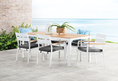 THEIA - 7 Piece Outdoor Dining Setting