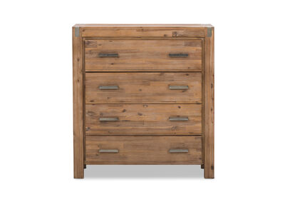 SILVERWOOD - 4 Drawer Tall Chest