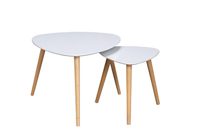 LEMNOS - Set of 2 Nesting Lamp Tables