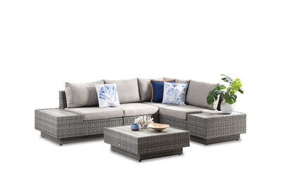 SIRENA - 5 Piece Outdoor Modular Lounge Setting