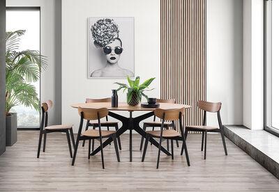 LANEY - 7 Piece Dining Suite
