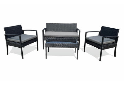JOSEPH - 4 Piece Outdoor Lounge Setting