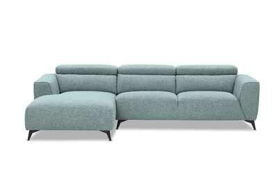 ORWELL - Fabric 3 Seater with Left-Hand Facing Chaise