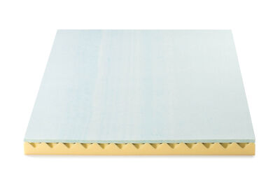 SWIRL COMFORT - Single Bed 10cm Convoluted Swirl Foam Topper