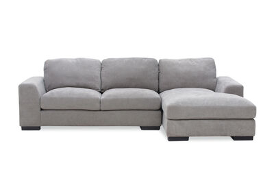 MARLOW - Fabric 3 Seater Chaise