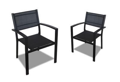 RODRIGO - Set Of 2 Outdoor Chairs