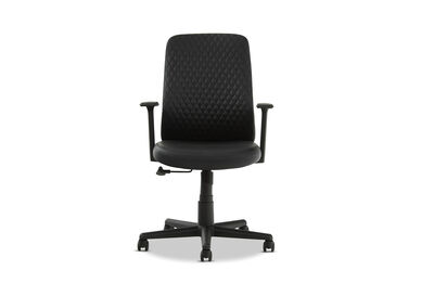GUSTAV - Black Office Chair