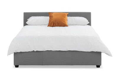 PAGOSA - Light Grey Double Lift Bed