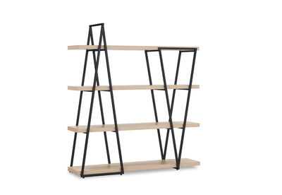 RAMALLO - 4 Tier Bookcase