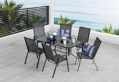 SAILOR - 7 Piece Outdoor Setting