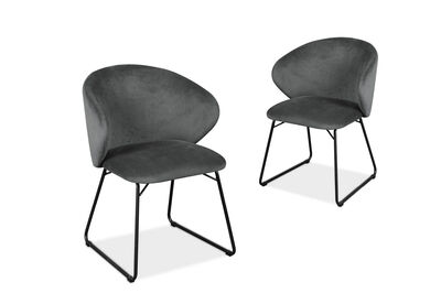 ELA - Set of 2 Dining Chairs