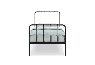EDINBURGH - Black Single Bed