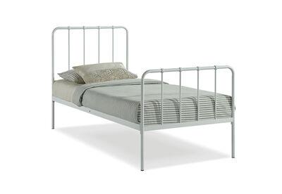 EDINBURGH - White Single Bed