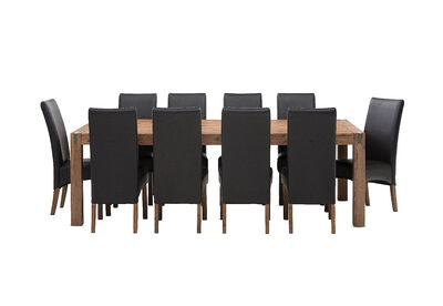 SILVERWOOD MK2 - 11 Piece Dining Suite