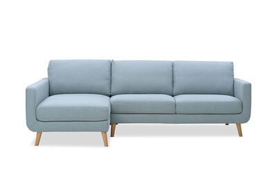PHOEBE - Fabric 3 Seater with Left-Hand Facing Chaise