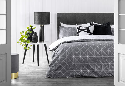 WALSH - Queen Bed Quilt Cover Set