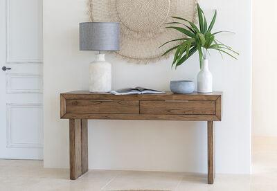SORVINO - 2 Drawer Sofa Table