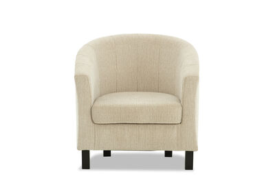 DEL RICO - Fabric Accent Chair