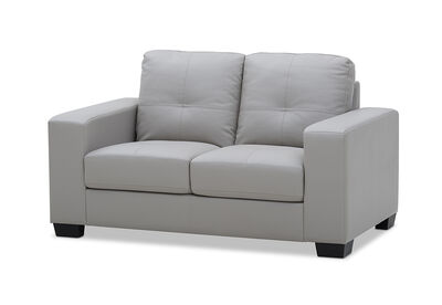 DIAMOND - Leather-Look 2 Seater Sofa