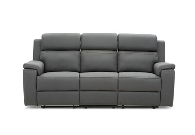 NEBULA - Fabric 3 Seater with Inbuilt Electric Recliners