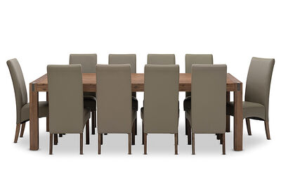 SILVERWOOD - 11 Piece Dining Room Suite