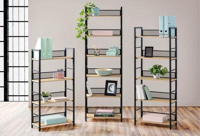 ACORN - 6 Tier Bookcase