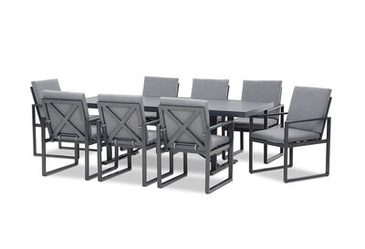 CENTARA - 9 Piece Outdoor Setting