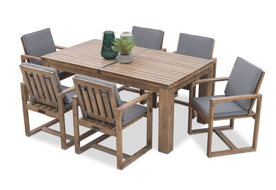 SHADOW2 - 7 Piece Outdoor Setting