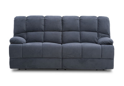 SPARTACUS - Fabric 3 Seater Recliner Lounge