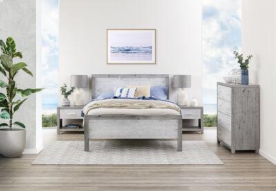 SANDCASTLE - 4 Piece Queen Bedroom Suite